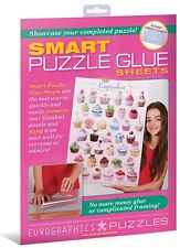 EUROGRAPHICS JIGSAW PUZZLE SMART PUZZLE GLUE SHEETS