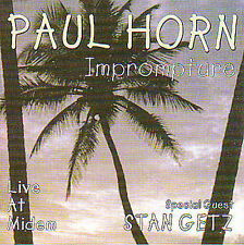 Paul Horn: Imprompture Live, Import Audio CD