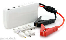 Emergency Car Jump Starter Kit + 12000mAh Laptop Mobile Tablet Battery Charger