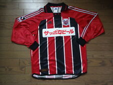 Consadole Sapporo 100% Original Japan Soccer Jersey O NEW 2001 Home J-League