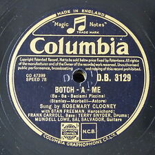 78rpm ROSEMARY CLOONEY botch - a - me / half as much