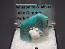 Amazonite  & Albite, Lake George, Park County, Colorado
