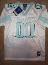 REEBOK Seattle Seahawks #00 nfl Football Jersey YOUTH KIDS *GIRLS* (5-6)