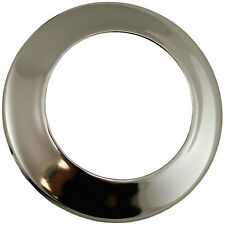 Chrome Sure Grip Shallow Escutcheon 1-1/4-Inch IPS O.D - 25 Pack- SD