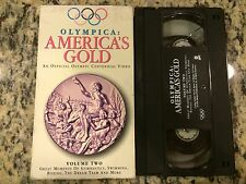 OLYMPICA AMERICA'S GOLD VOLUME 2 RARE VHS! NOT ON DVD! 1996 OLYMPIC HIGHLIGHTS!