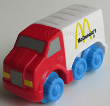 LOOSE McDonald's Fisher Price 1998 Under 3 McDONALD DELIVERY TRUCK SglToy Grp E