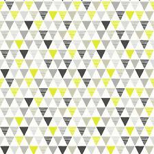 Triángulos bufón negro gris y verde wallpaper por Arthouse Imaginar niños 696006
