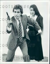 1982 Actors Joseph Cali Vicki Kriegler 1980s TV Show Today's FBI Press Photo