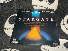 Stargate NEW SEALED Widescreen THX Laserdisc LD Kurt Russell Free Ship $30