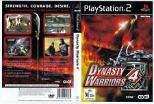 Dynasty Warriors 4 - Playstation 2.  COMPLETE.