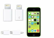 2pcs OEM 8 Pin adapter to Micro USB Converter charger fits iPhone 6 5 5S 5C ipad