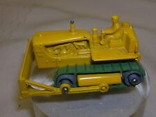 "Vintage England Lesney Caterpillar Dozer Tractor 2"" Long #8 Toy Metal Wheels"
