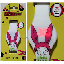 Bob's Burgers Louise Belcher I Smell Fear LED Digital Rubber Wrist Watch NEW