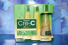 Shampoo Cre-C Max (3 Botellas  ) crece crec - AS SEEN TV- Caida de Cabello pelo