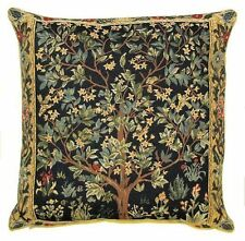 """NEW 18"""" WM MORRIS ARTS & CRAFTS TREE OF LIFE QUALITY TAPESTRY CUSHION COVER 1085"""