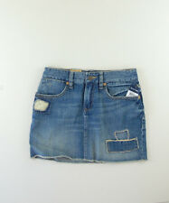 RALPH LAUREN POLO AUTH Blue KIDS YOUTH GIRL'S Jean Skirt Size 14