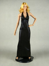 1/6 Scale Phicen, Hot Stuff, Hot Toys, SD - Sexy Female Black Gown + Black Heels