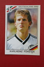 Panini MEXICO 86 N. 298 DEUTSCHLAND FORSTER With back GOOD CONDITION!!
