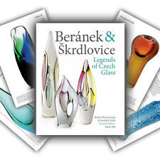 Skrdlovice & Beranek: Legends of Czech Glass - AMAZING NEW 'Must-Have' Book!