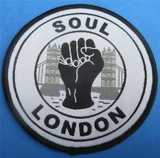 NORTHERN SOUL PATCH - SOUL LONDON - 75MM DIA