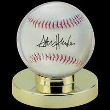 Ultra Pro Globe Baseball Holder Gold Pedestal Ball Display Case Perfect Fit!