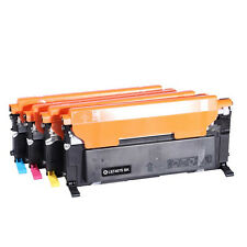 4 Compatible Toner Set for Samsung CLT-407S CLP320N 325N 325W CLX 3185FN 3185FW