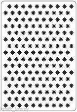 CRAFTS TOO EMBOSSING FOLDER CARDMAKING DIE MACHINE SMALL FLOWERS CTFD3022