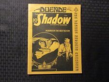 1976 DUENDE Pulp Journal Fanzine v.1 #2 FN 6.0 The Shadow - Doc Savage 48pgs
