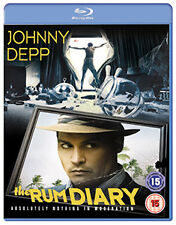 THE RUM DIARY - BLU-RAY - REGION B UK