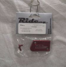 RIDE  ENGINEERING FRONT MASTER CYLINDER COVER - YZ-MCC0F-RA - RED
