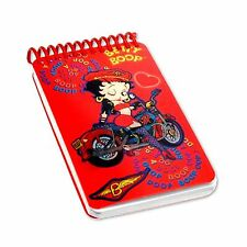 Betty Boop Red Motorcycle Flip Lenticular Notebook 2x4in 200 Page #BB-205-NBM#