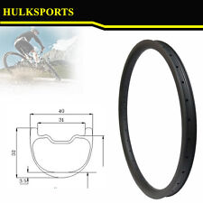 stronger 26er 40mm width mtb carbon rims tubeless compatible for AM and DH
