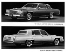 1982 Cadillac Fleetwood Brougham Factory Photo ca2164