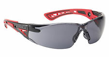 Bolle RUSH+ Sicherheit Brille - RUSHPPSF - UV Eye Protection - Rauch Linsen