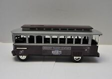 Trolley Car Bank Ertl Hershey Transit Company Die-Cast 1/43 Scale MINT