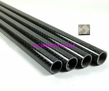 4PC 10MM X 8MM X 500MM 100% Carbon fiber Wing tube For Multicopter arm 3M