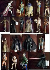 "LOT - 19 POUPEES STAR WARS Applause Classic Collectors Series 10"" vinyl doll"