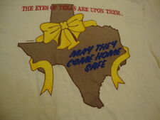 Vintage The Eyes Of Texas Are Upon them Military Troops Support Army T Shirt L