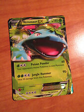Pokemon VENUSAUR EX Card XY X and Y Base Set 1/146 Ultra Rare Holo TCG 180 HP
