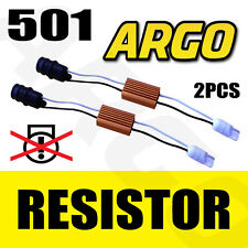 2 X T10 501 W5w 194 Canbus No Error Led Carga resistencias de advertencia sidelight OBC Kit