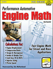 Performance Automotive Engine Math Book-Professional engine builders source~NEW!