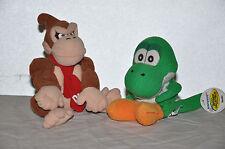 1997 Nintendo 64 Yoshi and Donkey Kong Plushies