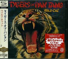 TYGERS OF PAN TANG WILD CAT 2016 JAPAN RMST SHM HIGH FIDELITY FORMAT CD
