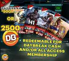 2500 DB Cash or Membership+DC