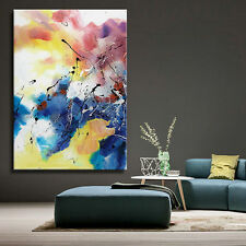 Modern abstract huge art oil painting decor wall on canvas (No Framed)