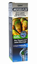 1 pack of Optima Musselflex with Glucosamine Massage Gel 125 ml Mussel Extract