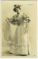 Circa 1902 French Theater Star Mlle. DARRIERES antique photo postcard