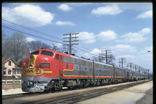 351088 ATSF EMD F 7 342 With Kansas City Train 1970 A4 Photo Print