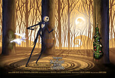 THE NIGHTMARE BEFORE CHRISTMAS REGULAR POSTER PRINT BY KEVIN WILSON NT MONDO