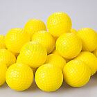 30pcs Yellow PU Foam Golf Balls Sponge Elastic Indoor Outdoor Practice Training